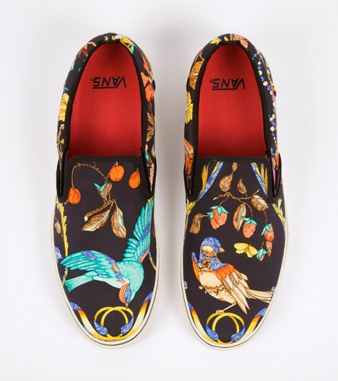 9f691ca52e3337 Robert Verdi asked Vans to create a collection of shoes based on the designs  of his extensive Hermes scarf collection… and while this isn t an official  ...