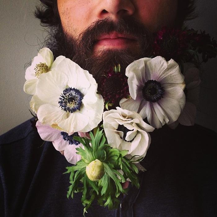 sarah winward flower beard