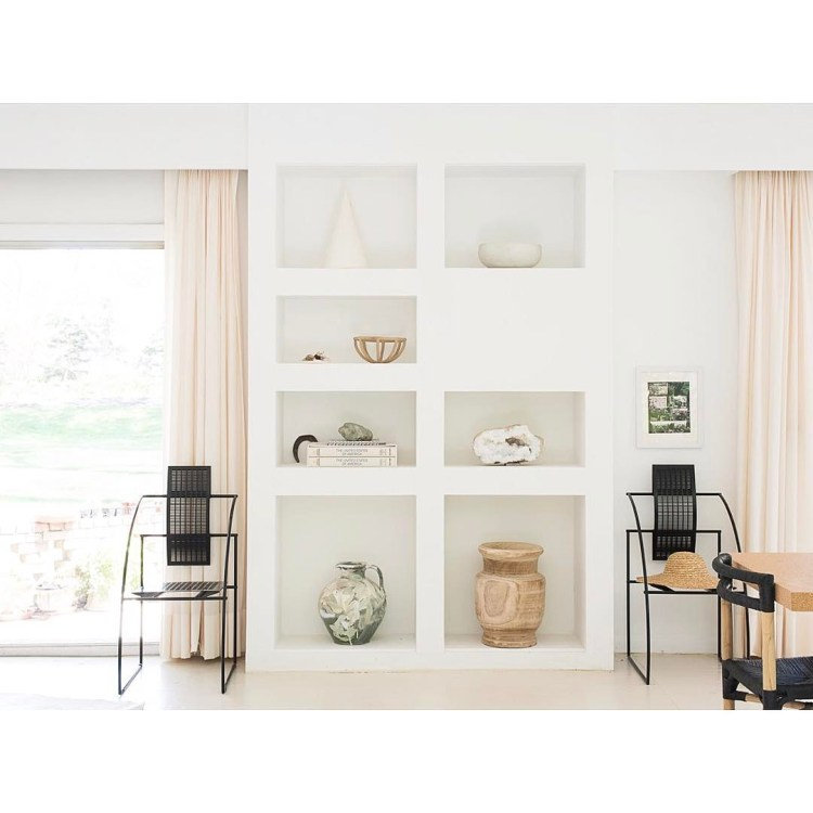 Homey home chairs and shelf styling interiordesign oneroomchallenge myhousebeautiful interiorshellip