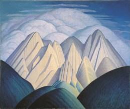 Lawren S. Harris Untitled (Mountains Near Jasper) circa 1934-1940 oil on canvas 127.8 x 152.6 cm Collection of the Mendel Art Gallery, Gift of the Mendel Family, 1965 © 2016 Estate of Lawren S. Harris