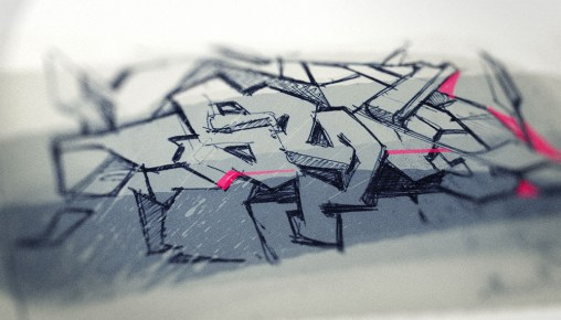 Industrial Design Sketch - Florian Mack - Grafitti