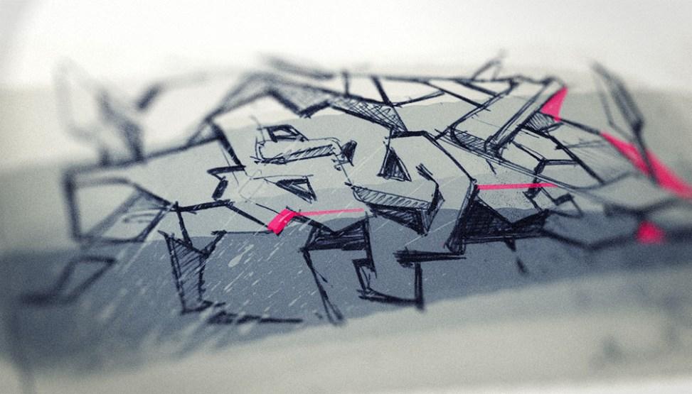 Industrial Design Sketch - Florian Mack - Grafitti