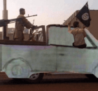 truck stolen by ISIS