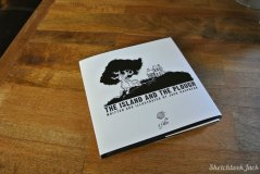 the island and the plough children book sketchbookjack design layout cover black and white cartoon illustration
