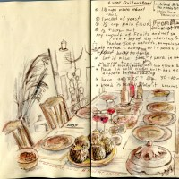 Two Sketches, Two Recipes