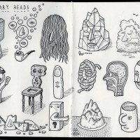 Sketchbook: Whimsical Heads