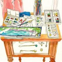 Juriko Kosaka: Desks
