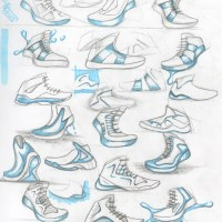 Dominic Dina: Shoe Sketches