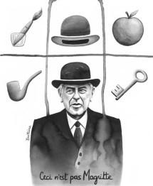 Ceci n'est pas Magritte
