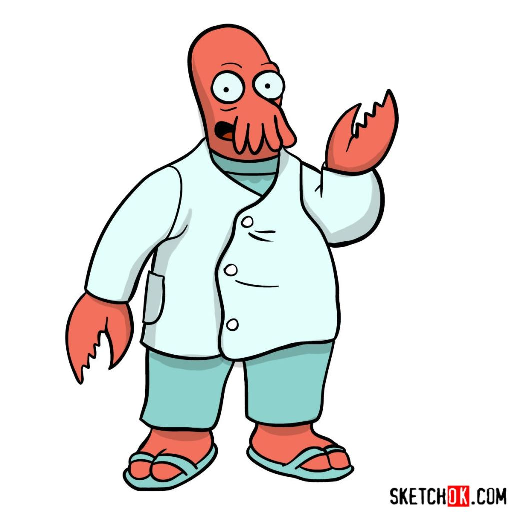 How to draw Doctor Zoidberg