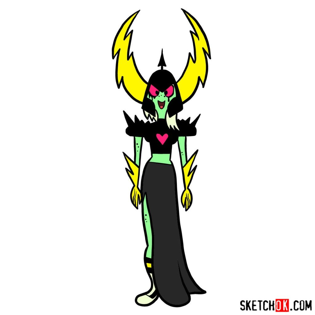 How to draw Lord Dominator