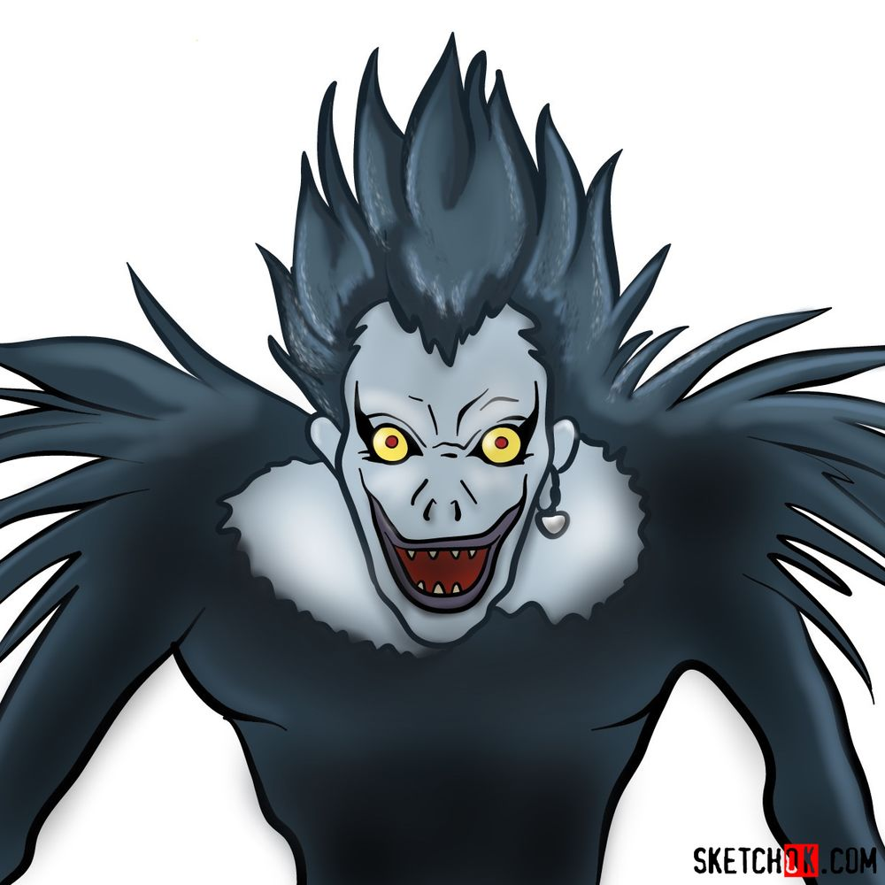 How to draw Ryuk | Death Note