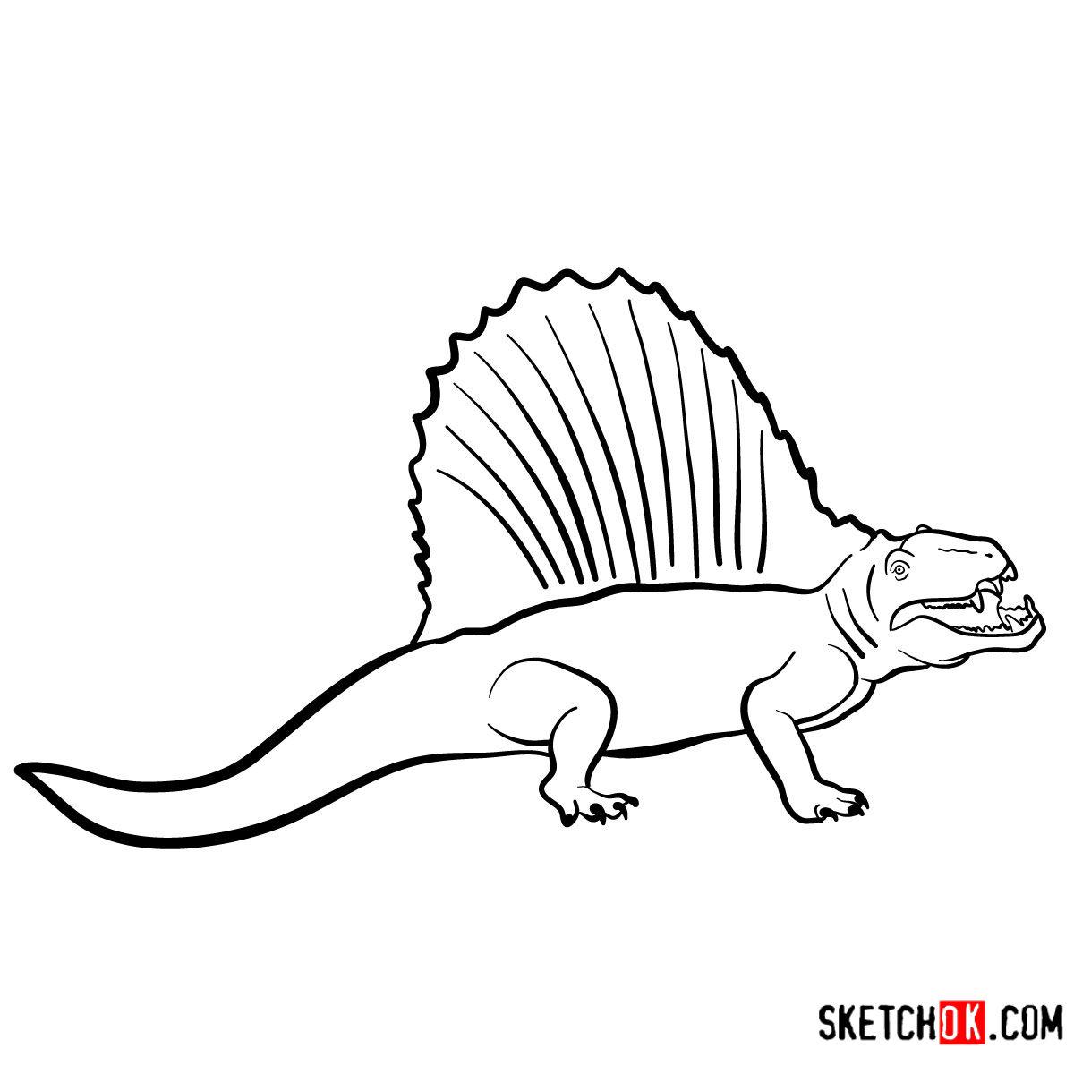 Giganotosaurus Kleurplaat • Kidkleurplaat.nl