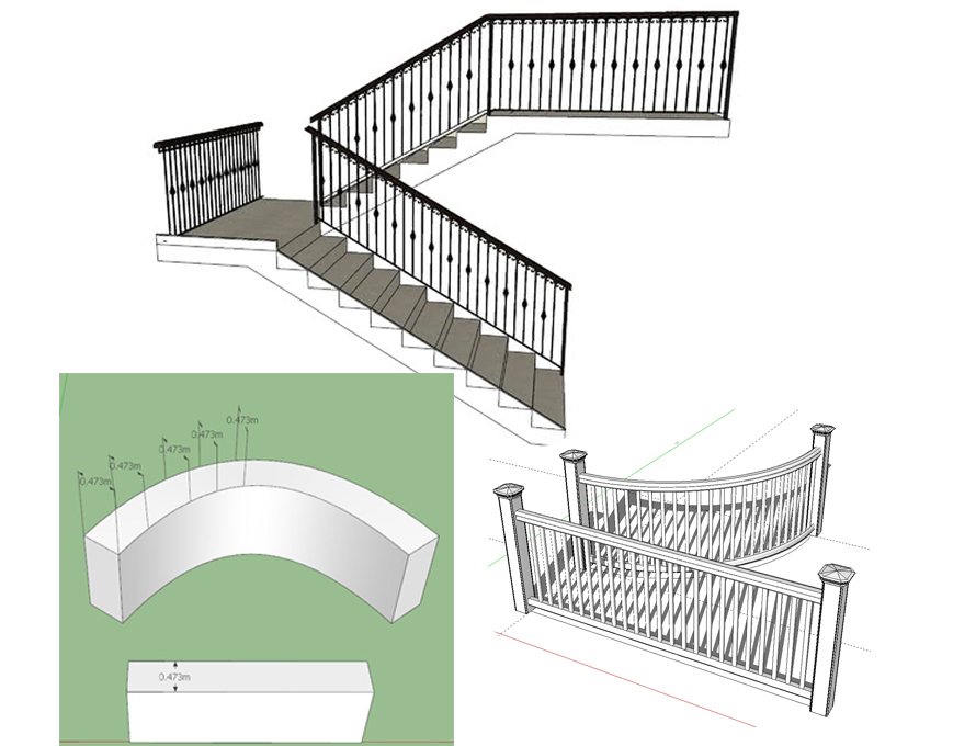 Bending an object in SketchUp