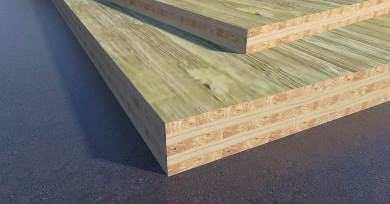 Need a Cross-Laminated Timber in SketchUp?