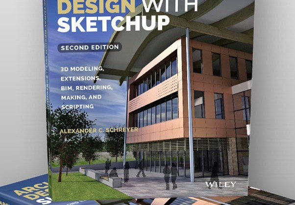 "Second Edition of ""Architectural Design with SketchUp"" is almost here!"
