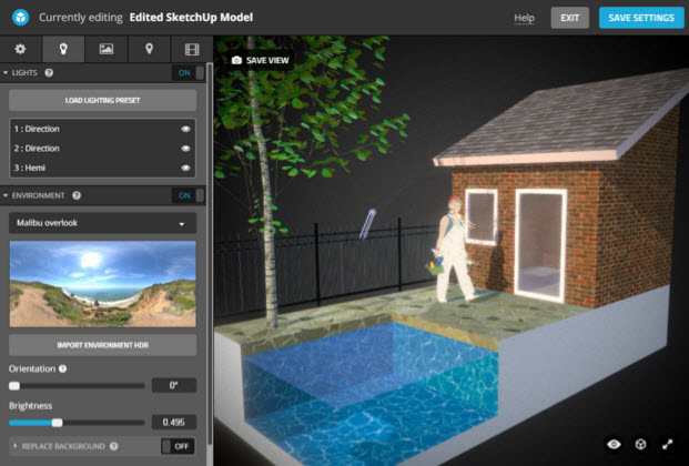 How to best prepare your SketchUp models for Sketchfab.com