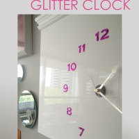 Ikea Hack - DIY Glitter Clock