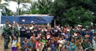 Peringati Hari Kartini, SatgasYonif Raider323 Kostrad Gali Kreativitas Kartini-Kartinidi Perbatasan