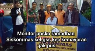 Posko GSS : Mari Kita Jaga Ramadhan 1439 H Dengan Suka Cita