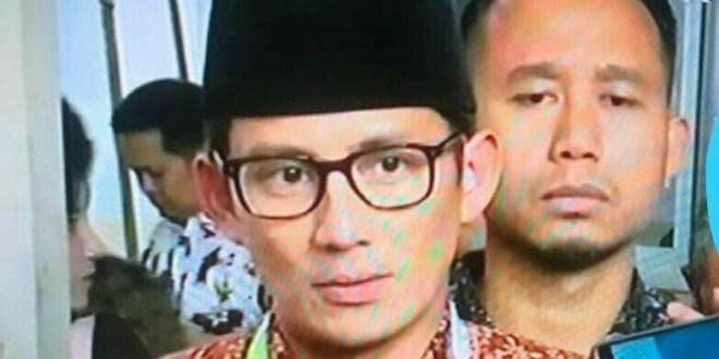 Sudah Ribut Peganti Wagub DKI Sandi, Sementara SK Presiden RI Belum Diterima Sandiaga