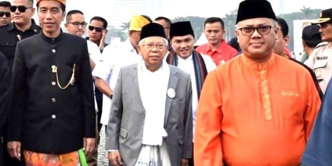 SBY WO Saat Deklarasi Kampanye Damai, Protes KPU Atribut Partai Dukungan