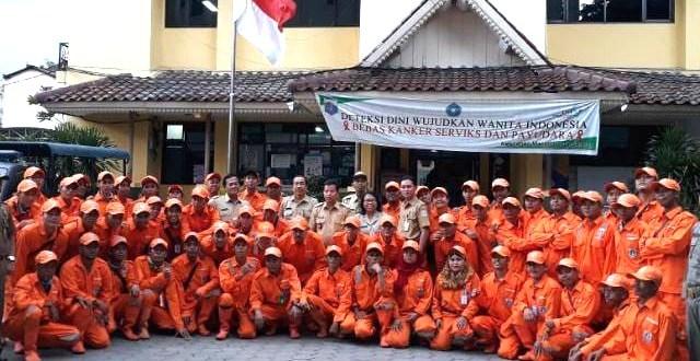 Volunteer MDS dan Bank Sampah Jaga Kali Anak Ciliwung Dari Warga Buang Sampah