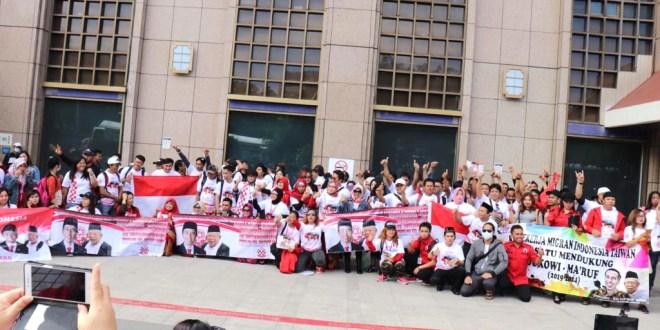 DPLN Solmet d Taiwan Gelar Deklarasi Pemenamgan Jokowi – Mahruf Amin