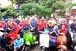 Walikota Bayu Kendarai Motor Jadul Vespa Terjun Wilayah, Kini Jadi Trending Topic