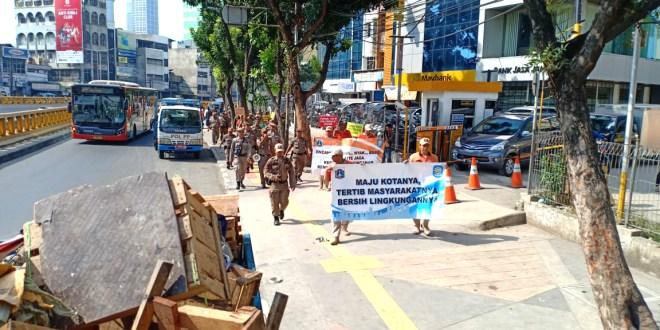 Awas Trotoar Tanah Abang Kembali Menjadi Lapak Saat Memasuki Ramadhan