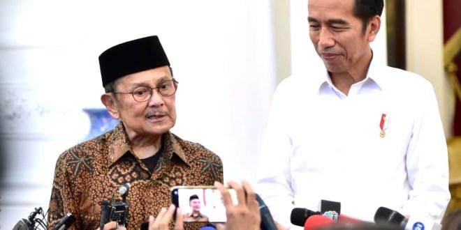 Bertemu Presiden Jokowi, Habibie Tegaskan Persatuan Bangsa Tak Bisa di Ganggu Gugat