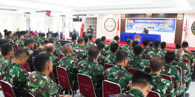 Resmi Dibuka Latihan F 1QR Lantamal IV TA 2019