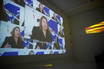 Zaha Hadid afirmando que en Europa del norte no hay luz