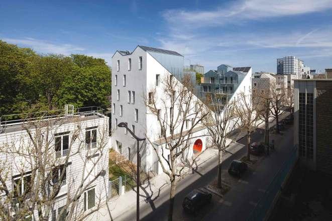 2012, Logements, 75017 Stéphane Maupin, architecte © Cécile Septet