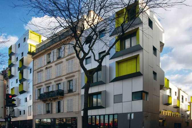 2010, 63 logements, 75018 X-TU Architectes © Javier Arpa