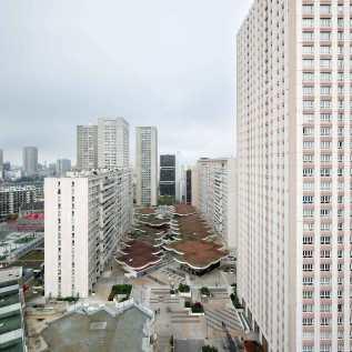 1973 – 1976, Quartier Olympiades, Michel Holley (c) Vincent Fillon