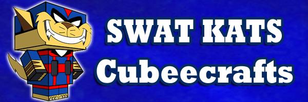 Swat Kats Cubeecrafts by SKGaleana
