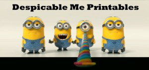 Despicable Me Printables