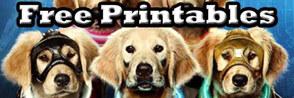 Disney super buddies free printables