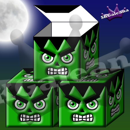 Frankenstiens Monster Box by SKGaleana