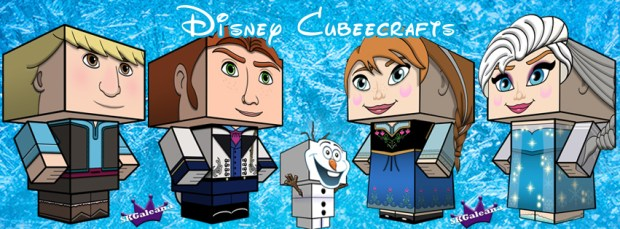 Disney Cubeecrafts