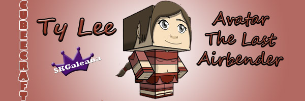 Ty Lee cubeecraft by SKGaleana