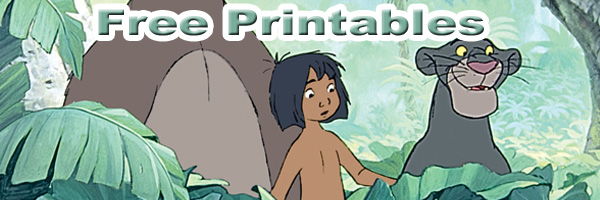 Jungle book Free Printables SKGaleana