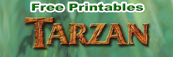 Tarzan Printables SKGaleana