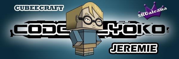 Jeremie Cubeecraft By SKGaleana