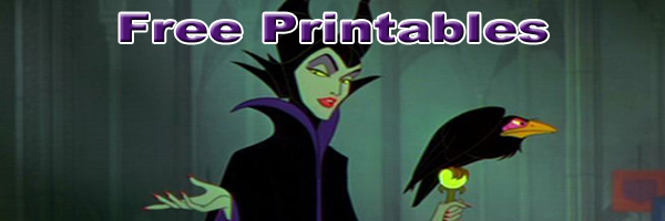 maleficent Printables SKGaleana