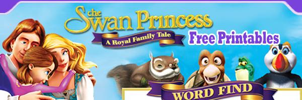 Swan Princess A Royal Family Tale Free Printables