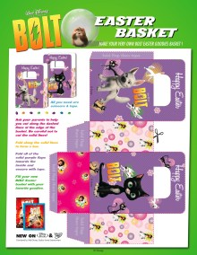 bolt Easter Bag