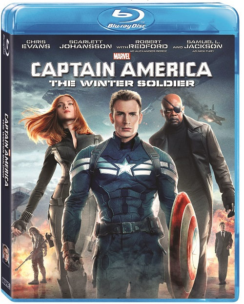 Captain America Winter SoldierBluray