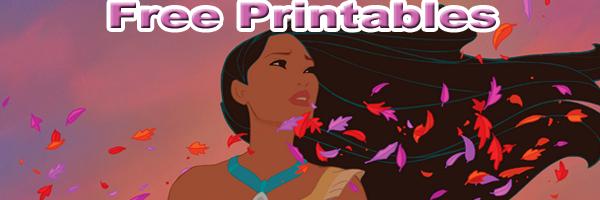 Free pocahontas printables SKGaleana